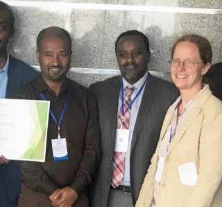 Hand-over of certificates to newly sub-specialized Gynaecologic Oncologists in Ethiopia (collaboration German and Ethiopian Society of Gynaecology)