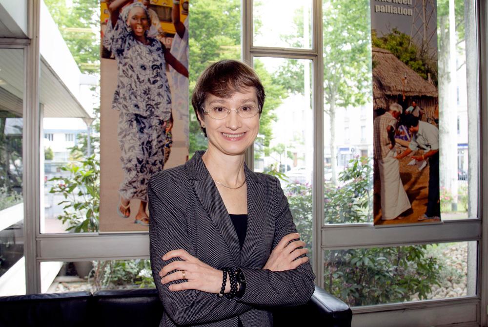 IARC Director Dr Elisabete Weiderpass